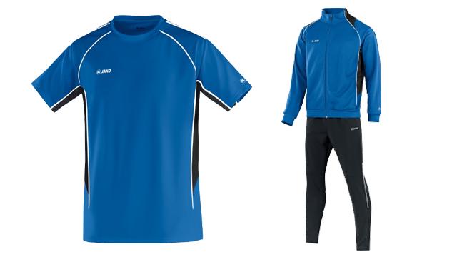 Neue Trainingsanzüge und T-Shirts verfügbar!