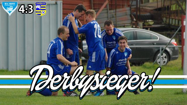 Derbysieger!