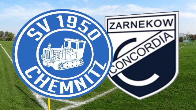 Chemnitz und Zarnekow trennen sich Unentschieden