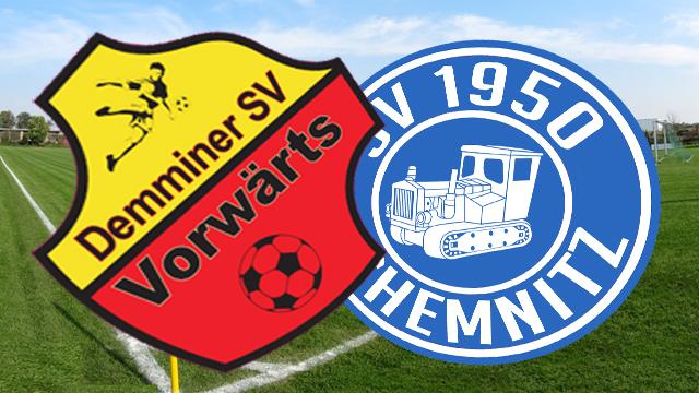Vorwärts Demmin und Chemnitz II trennen sich 2:2