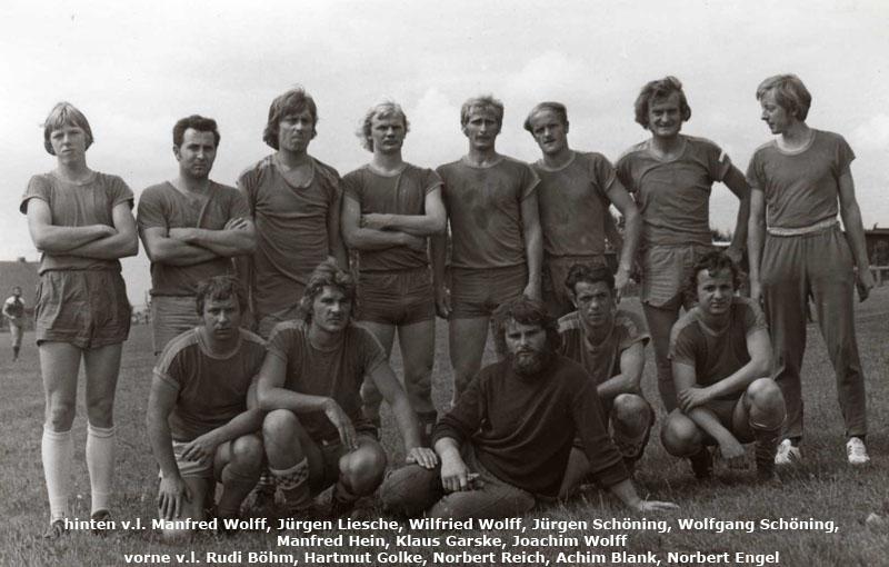 Mannschaftsfoto 1976