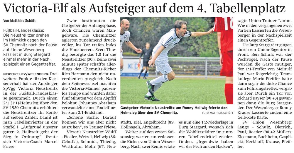 Neustrelitz Strelitzer Zeitung