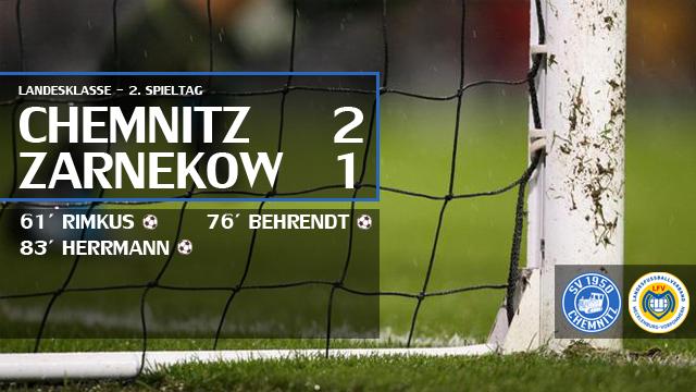 Heimsieg am 2. Spieltag