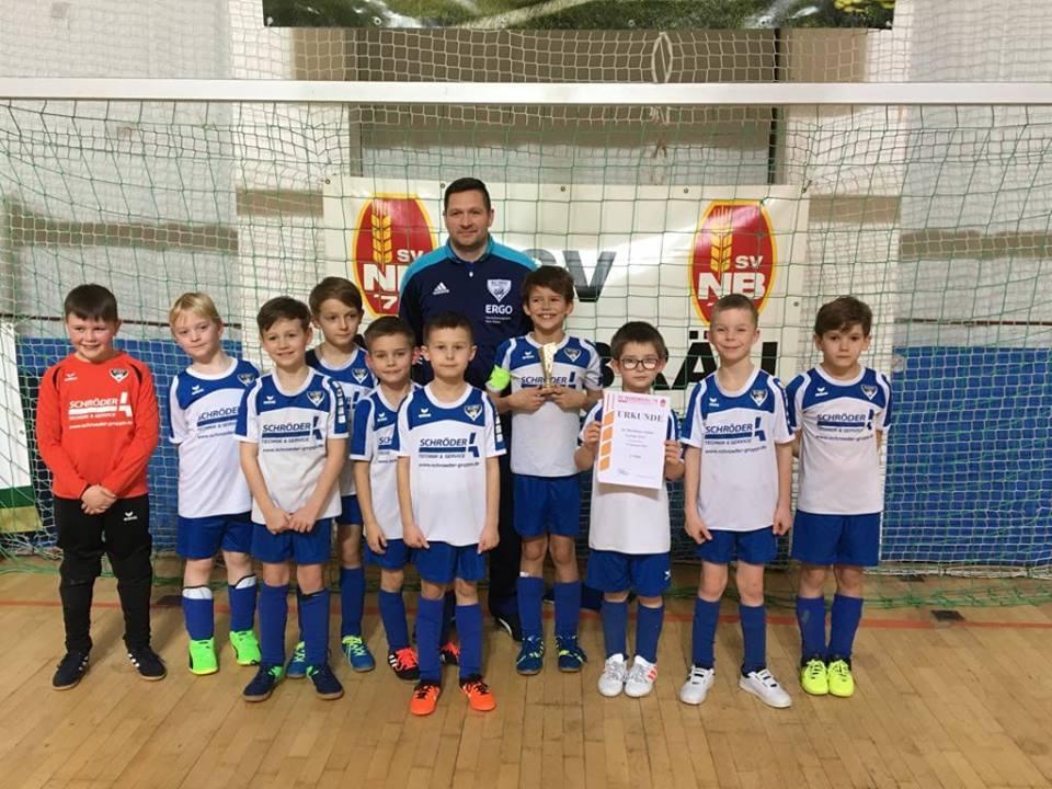 F- Jugend mit klasse Vorstellung beim Nordbräu- Cup, E- Jugend mit Startschwierigkeiten zum 5. Platz.